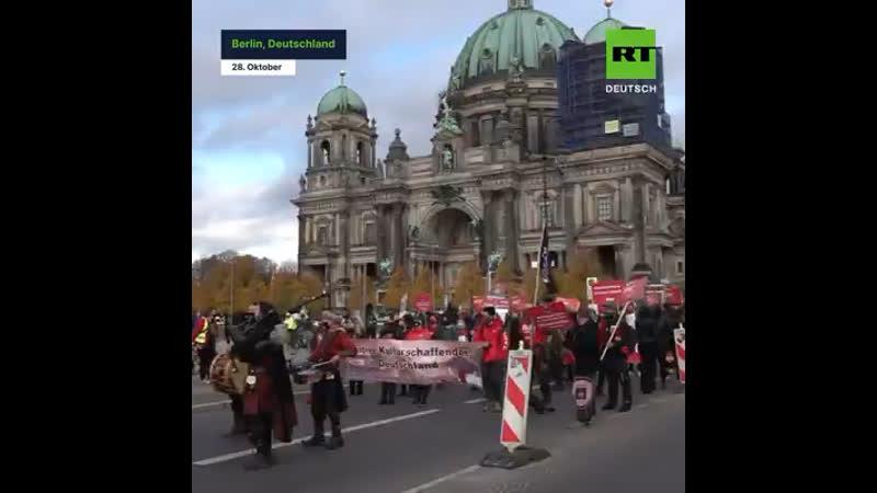 RT Deutsch Alarmstufe Rot Großdemo zur Rettung der Veranstaltungsbranche