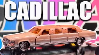 Vintage Cadillac Limousine Majorette No. 339 Resto/Mod