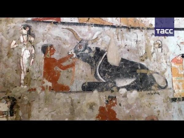 Как выглядит гробница жрицы древнеегипетской богини Хатхор