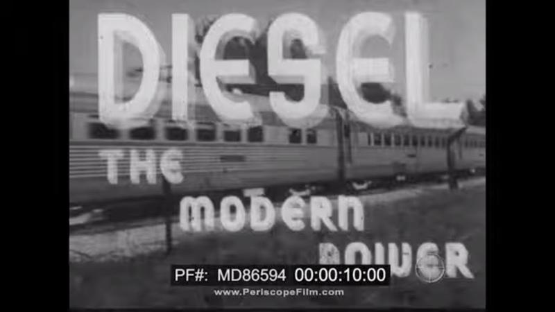 DIESEL THE MODERN POWER DIESEL ENGINE PRINCIPLES DEVELOPMENT MD86594