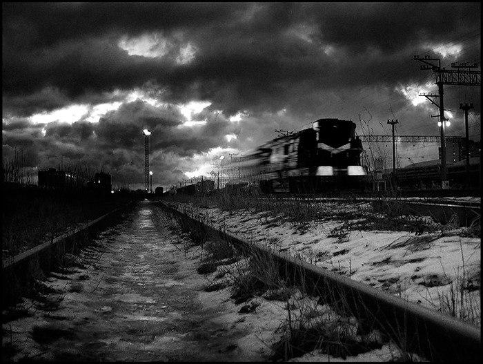 Поездка по призрачной железной дороге