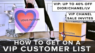THE TRUTH: VIP LUXURY CUSTOMERS - HOW TO GET SALE INVITES, EVENTS, DISCOUNTS & PRIVATE SHOPPING   AD