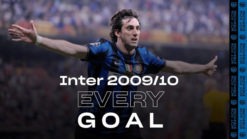 EVERY GOAL INTER 2009 10 Milito Eto'o Sneijder Stankovic Maicon and many more ⚽⚫🔵😮