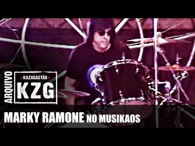 Arquivo KZG - MARKY RAMONE no Musikaos (2000) - apresentado por Gastão Moreira