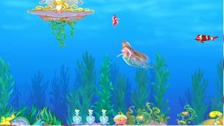 Полное Прохождение Игры. Барби-Русалочка. Приключения В Подводном Мире. Компиляция. Барби. ПК Игры.