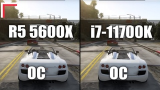 AMD Ryzen 5 5600X OC vs Intel Core i7-11700K OC — Test in 8 Games! [1080p, 1440p]