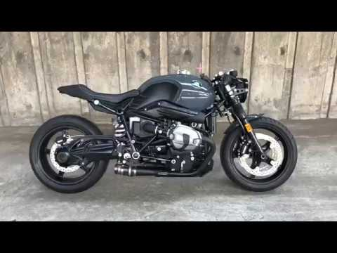 Thai Riders BMW R9T Pure Cafe Racer Custom By K-SPEED