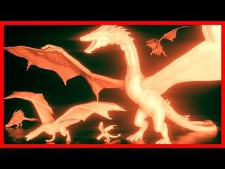 🐲 DRAGONS Size Comparison 🐉 (3D Animation)