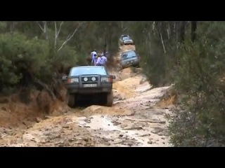 P38A Range Rovers and a Classic properly off road