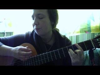 Елена Радуга (Ускова)-первая попытка спеть Символ Веры..пардон за музыку..будет вторая )