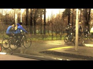 Осенний велопробег в СВАО 2013 заезд в Джамгаровский парк