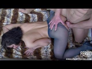 Ferro Network - April B & Clem - Anal Pantyhose