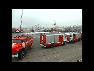 Вальс на пожарных автомобилях