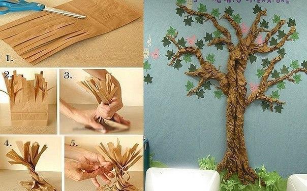 Рукоделья своими руками деревья