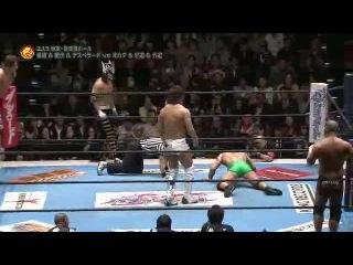 [#My1] CHAOS (Kazuchika Okada, Gedo & Jado) vs. El Desperado, Hiroshi Tanahashi & Kota Ibushi - NJPW NJC Day 1 -