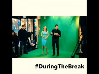 @nicklachey breaking it down with the lovely lori loughlin #duringthebreak. catch more with her now on #vh1buzz