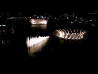 The world greatest dancing fountains - Burj Khalifa