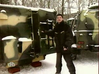 Вездеходы ГАЗ-3937 'Водник'