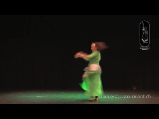 Jennifer Mastroianni Esquisse d'Orient Bellydance Competition 2014 Professio