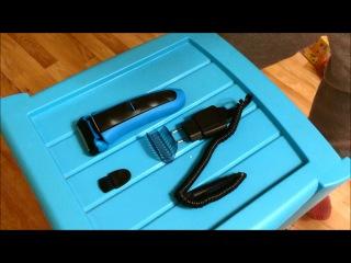 Видео отзыв от Островской Елены Электрическая бритва Braun Waterflex blue