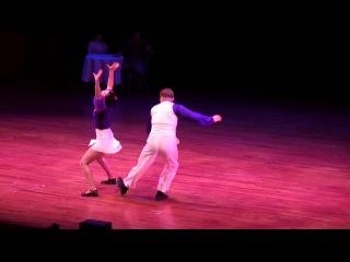 The Jump Session Show 2012 - Lindy Hop Couple - Mattias & Hanna