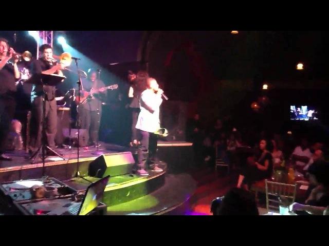 Torion@ R B Live LA performing JOY by Blackstreet