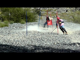 Stone Ski Slalom 2012