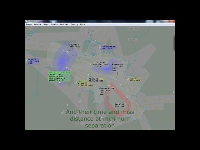 SESAR NextGen Air Traffic Control Simulator