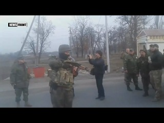 Срочно: украинские военные открыли огонь в ходе конфликта с участниками блокады...