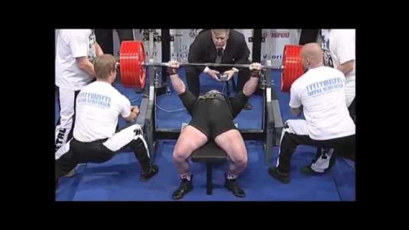 Andrey Belyaev - 2447 lb Total @ 212 lbs (1110@96.3 kgs)