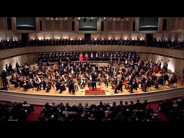 Beethoven 9 Chicago Symphony Orchestra Riccardo Muti