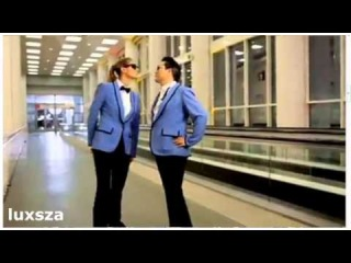 Heidi Klum -- Gangnam Style Dance with Psy (Full Version)  min