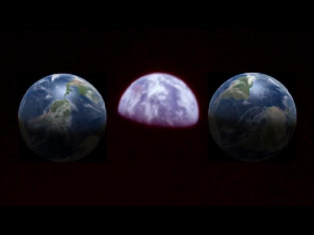 Американцы не были на Луне. Вид Земли с Луны