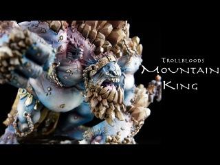 Painting Warmachine & Hordes: Trollbloods Mountain King Gargantuan