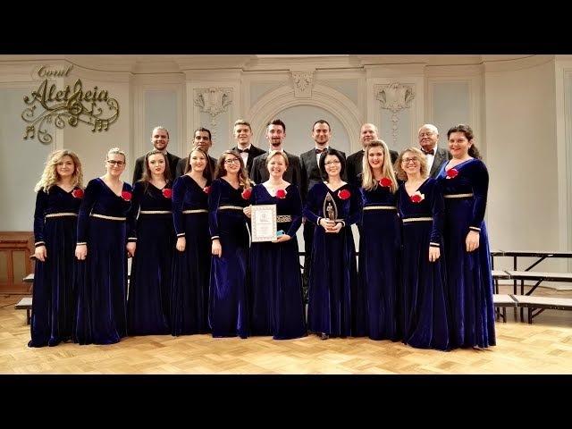 Corul Aletheia în concert - Moscova, 26 sept. 2017