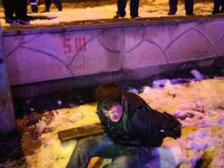 В Николаеве задержали пьяного мужчину, угрожавшего гражданам и милиции гранатой