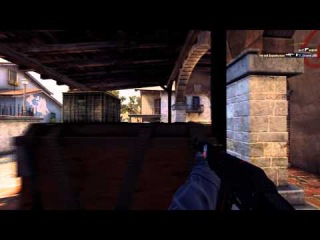 MM CS:GO 4 kills with p2000/AK-47 ECO Round