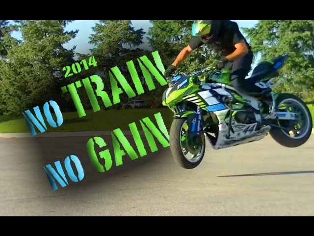 KYLE SLIGER 2014 no TRAIN no GAIN motorcycle stunts
