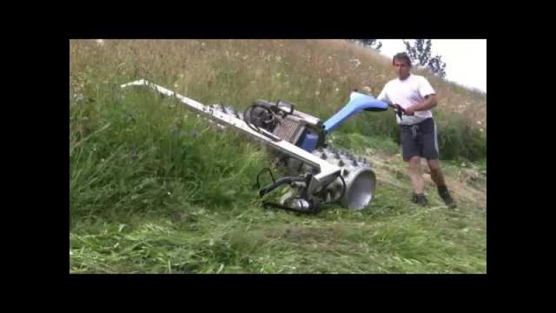 Brielmaier Breitspurmäher im Geländeeinsatz
