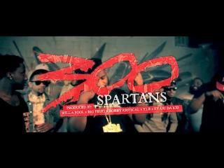 Sy Ari Da Kid ft D Dash, Verse Simmonds, Que, K Camp, Stuey Rock, Jose Guapo, Chaz Gotti, Dae Dae, Doe Boy, Issa, Migos, Zuse, Kidd Kidd, Jacquees - 300 Spartans