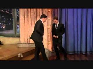 Sam Rockwell @ Late Night with Jimmy Fallon rebola