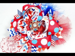 """Let there be LIGHT! (DIY """"light up"""" hairbow) How I make my bows """"GLOW"""""""