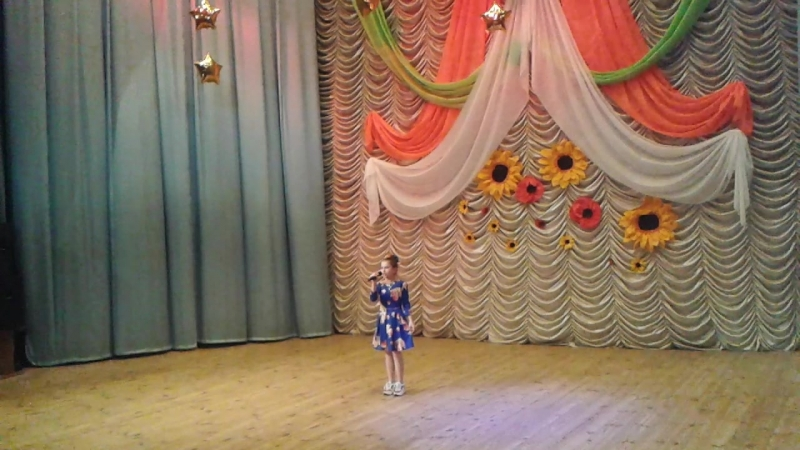 Шилова Алина полуфинал Всеукраинского телеконкурса ЗІрки та зіроньки
