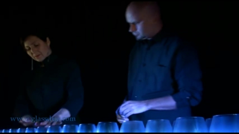 Bach Toccata and Fugue in D Glass Harp glasharfe part 1 2