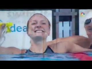 Женщины.100 метров баттерфляем - Сара Шёстрем Мировой рекорд  | Kazan 2015 | ЧМ-2015. Плавание | New WR