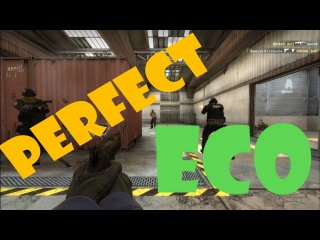 Perfect Eco Round CS:GO on de cache