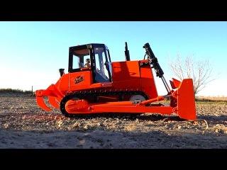 RC ADVENTURES - Fully Restored Bulldozer - Stahl / Liebherr 742 1/14 Scale