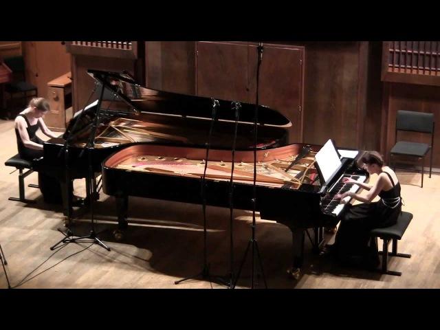 Saint-Saëns Danse macabre for two pianos, op.40