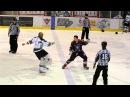 Rudesse Roughing Sean McMorrow vs Sébastien Roy 1 LNAH 28 11 14