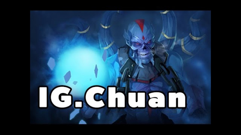 IG ChuaN Lich Offlane Ranked MMR Game